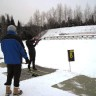 BIATHLON CLINIC A SUCCESS DESPITE THE WEATHER!