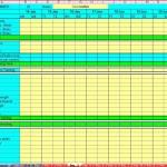 Training Log - Data Sheet